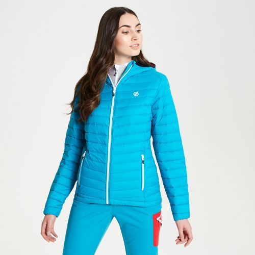 Women's Elative Down Fill Insulated Jacket Fresh Water Blue